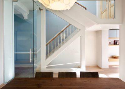 Fermeture cage d'escalier